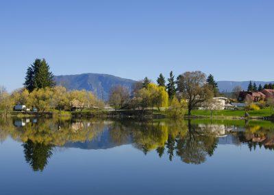 McGuire Lake 1, Salmon Arm, Shuswap, spring, landscape, Darren Robinson