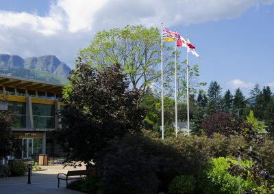 City Hall 1, Salmon Arm, Shuswap, summer, landscape, British Columbia, Canada
